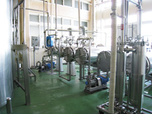 Tubular sterilization equipment